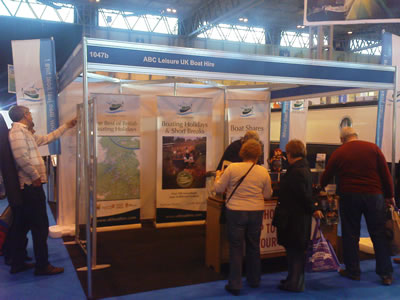 Boat & Caravan Show at the NEC in February 2010